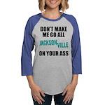 Jacksonville Football Womens Baseball Tee