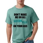 Jacksonville Football Mens Comfort Colors Shirt