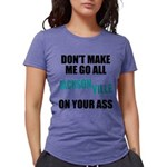 Jacksonville Football Womens Tri-blend T-Shirt