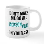 Jacksonville Football 20 oz Ceramic Mega Mug