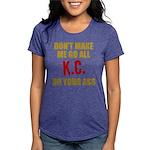 Kansas City Football Womens Tri-blend T-Shirt