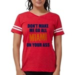 Miami Football Womens Football Shirt