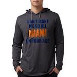 Miami Football Mens Hooded Shirt