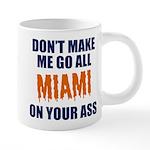 Miami Football 20 oz Ceramic Mega Mug
