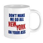 New York Football 20 oz Ceramic Mega Mug