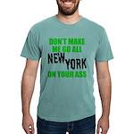 New York Football Mens Comfort Colors Shirt
