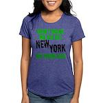 New York Football Womens Tri-blend T-Shirt