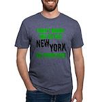 New York Football Mens Tri-blend T-Shirt