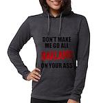 Oakland Football Womens Hooded Shirt