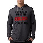 Oakland Football Mens Hooded Shirt