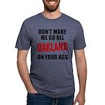 Oakland Football Mens Tri-blend T-Shirt