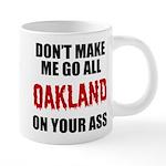 Oakland Football 20 oz Ceramic Mega Mug