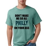 Philadelphia Football Mens Comfort Colors Shirt