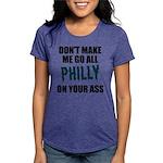 Philadelphia Football Womens Tri-blend T-Shirt