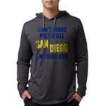 San Diego Football Mens Hooded Shirt