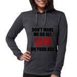 San Francisco Football Womens Hooded Shirt