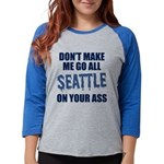 Seattle Football Womens Baseball Tee