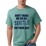 Seattle Football Mens Comfort Colors Shirt