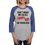 Tampa Bay Football Womens Baseball Tee