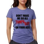 Tampa Bay Football Womens Tri-blend T-Shirt