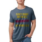 Washington Football Mens Tri-blend T-Shirt