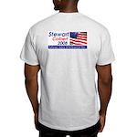 (Back) Stewart / Colbert for Preside Ash Grey T-Sh