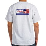 (Back) Stewart / Colbert for Preside Ash Grey T-Sh