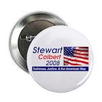 Stewart / Colbert for Preside Button