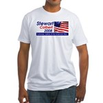 Stewart / Colbert for Preside Fitted T-Shirt
