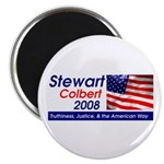 Stewart / Colbert for Preside Magnet