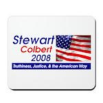 Stewart / Colbert for Preside Mousepad