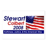 Stewart / Colbert for Preside Postcards (Package o