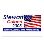 Stewart / Colbert for Preside Postcards (Package o