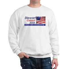 Stewart / Colbert for Preside Sweatshirt