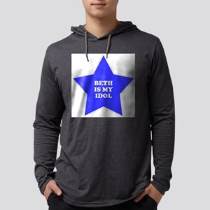 star-beth Mens Hooded Shirt