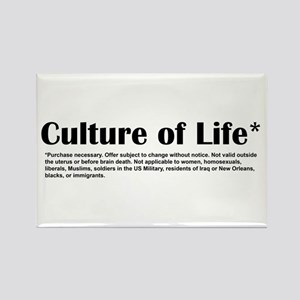 Culture of Life Rectangle Magnet