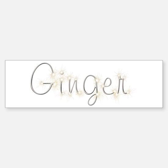Ginger Spark Bumper Bumper Bumper Sticker