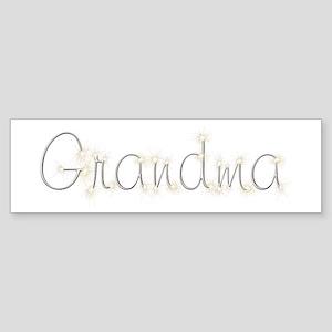 Grandma Spark Bumper Sticker