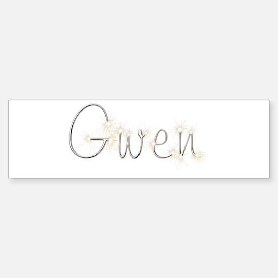 Gwen Spark Bumper Bumper Bumper Sticker