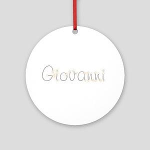 Giovanni Spark Round Ornament