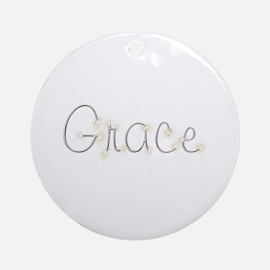 Grace Spark Round Ornament