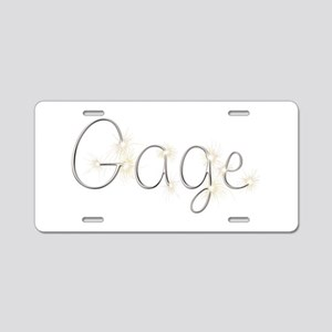 Gage Spark Aluminum License Plate