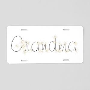 Grandma Spark Aluminum License Plate