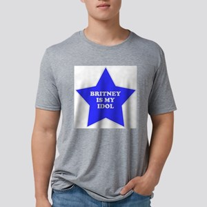 star-britney Mens Tri-blend T-Shirt