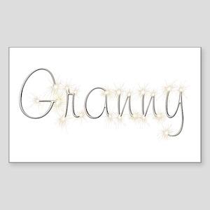 Granny Spark Rectangle Sticker