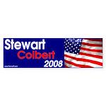 Bumper Sticker - Stewart/Colbert