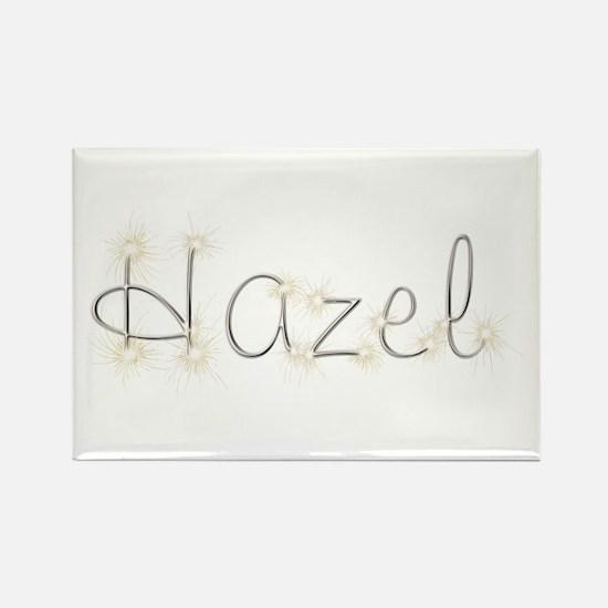 Hazel Spark Rectangle Magnet