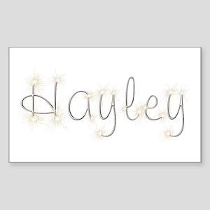 Hayley Spark Rectangle Sticker