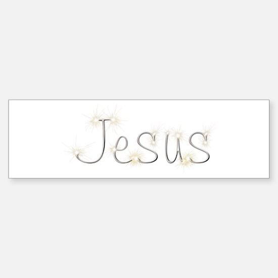 Jesus Spark Bumper Bumper Bumper Sticker