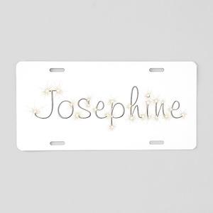 Josephine Spark Aluminum License Plate